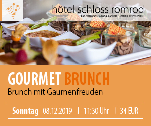 Gourmet Brunch - 08.12.2019