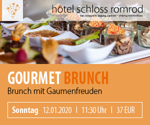 Gourmet Brunch - 12.01.2020