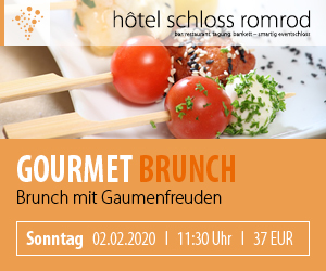 Gourmet Brunch - 02.02.2020