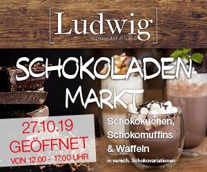 Das Ludwig ist am Schokoladenmarkt 2019 in Alsfeld
