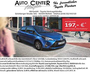 Autohaus Toyota Yaris Hybrid