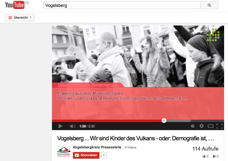 Soll Jugend an die Region binden: Mit diesem Film wirbt der Vogelsberg im Netz für sich. Sreenshot: Oberhessen-Live
