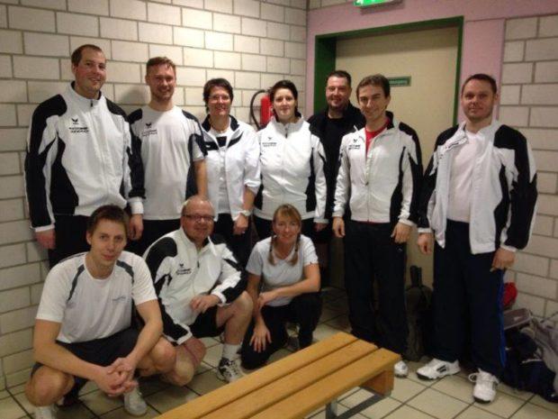 Richten am Wochenende das Turnier aus: Mitglieder des Badminton-Vereins Alsfeld