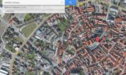 Alsfeld von oben: Ein Screenshot aus Google Maps zeigt die Altstadt. Eine ehrenamtliche Gemeinschaft soll die Karten des Internetriesen über Alsfeld auf dem neuesten Stand halten. Screenshot: oberhessen-live