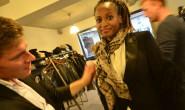 Dunkelhäutige Models, der Akzente wegen: Im Modehaus Campus lief am Donnerstag ein Casting für eine Show am 12. September. 7 Models sollen die Hingucker des Abend werden. Fotos: jal