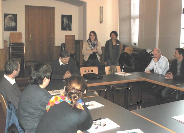 Der Auftakt des Projekts: Homberg will Hartz-IV-Empfängern helfen, wieder Arbeit zu finden. Foto: Stadt Homberg