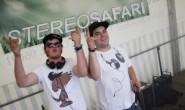 Bringen den Techno in die Region: DeWulv Tizian Haas und Hentrack Hendrik Wagner in Action auf einem Open-Air. Foto: privat