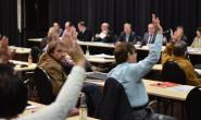 Angenommen: Das Stadtparlament stimmte am Mittwoch für die Windkraft-Vereinbarung. Fotos: jal