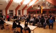 Gut besucht: Knapp 100 Zuhörer kamen zur Bürgerversammlung. Fotos: privat