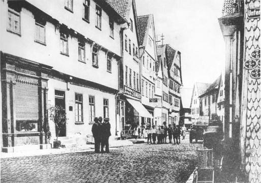 OL-Alsfeld-Untergasse-1900