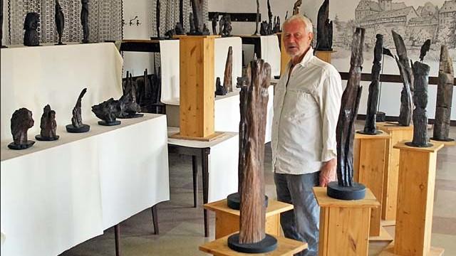 holzskulpturen selber machen holzskulpturen selber machen 30 ideen f r kunst aus holzskulptur. Black Bedroom Furniture Sets. Home Design Ideas