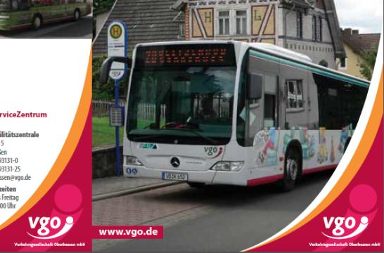 Soll gestrichen werden: Der Stadtbus der Linie 20 steht vor dem aus. Ist ein Bürgertaxi ein guter Ersatz? Die Abgeordneten sind sich uneinig. Screenshot: Fahrplan der VGO für Lauterbach.