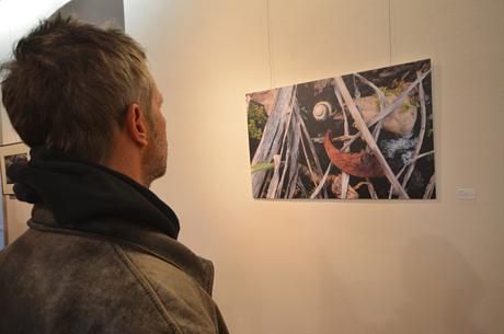 Schnecke im Unterholz: Lucky Mondschein mag es, genau hinzusehen bei seinen Fotos.