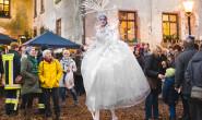 Weihnachtlicher Zauber rund ums Homberger Schloss: Den gibt es wieder am 5. Dezember. Fotos: Schlosspatrioten.