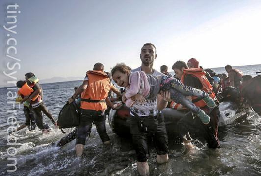 Insel der dramatischen Szenen: Täglich kommen hunderte Flüchtlinge auf der griechischen Insel Kos an. Foto: Freedom House/flickr. Lizenz: Public Domain Mark 1.0