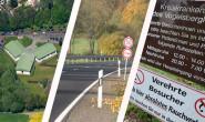"""Sollen """"zukunftssicher"""" gemacht werden: 18 Millionen will der Kreis 2016 unter anderem für Schulen, Straßen und das Kreiskrankenhaus ausgeben. Collage: Oberhessen-live."""