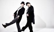 Kommen zu den Bad Hersfelder Festspielen: Dick und Doof, gespielt von Ulrich Bähnk und Roland Renner. Foto: Anatol Kotte