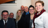 Wiedergewählt: der Romröder CDU-Vorstand mit Bürgermeisterin Dr. Birgit Richtberg. Foto: CDU