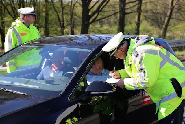Erwischt: Beim europaweiten Blitzmarathon waren auch im Vogelsberg einige Autofahrer zu schnell unterwegs. Fotos: privat