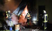 Nochmal gut gegangen: Der Brand in einer Alsfelder Maschinenbaufirma konnte schnell gelöscht werden. Foto: ol