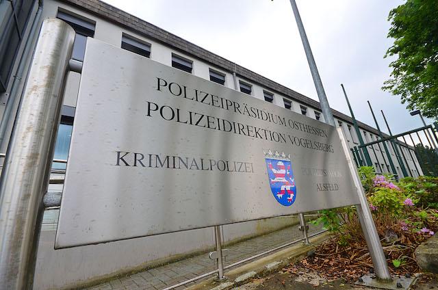 Die ehemalige Arbeitsstätte von Wolfgang Taschner: Die Alsfelder Polizeistation.