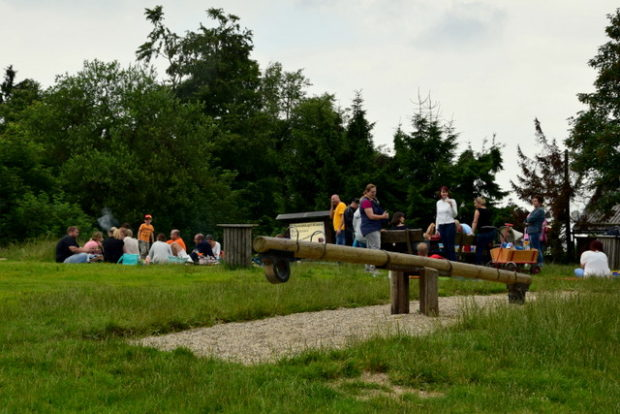 Für die Jüngsten bietet der Hoherodskopf einen großen Spielplatz.