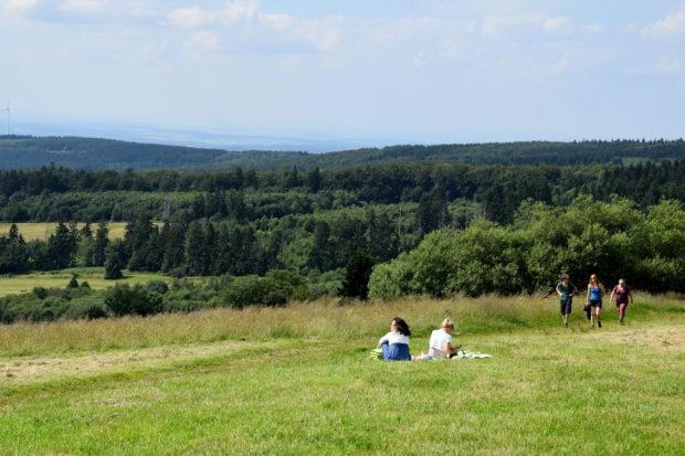 Wandern, Joggen, Picknicken - alles möglich und das mit bester Aussicht.