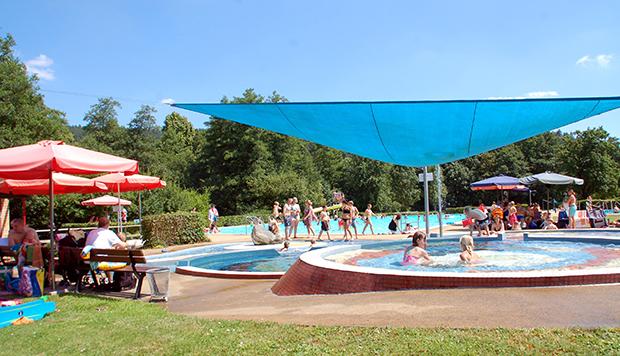 Aktionen im Schlitzer Freibad - baden in Pfordter See