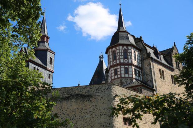Das Romröder Schloss. Foto: privat
