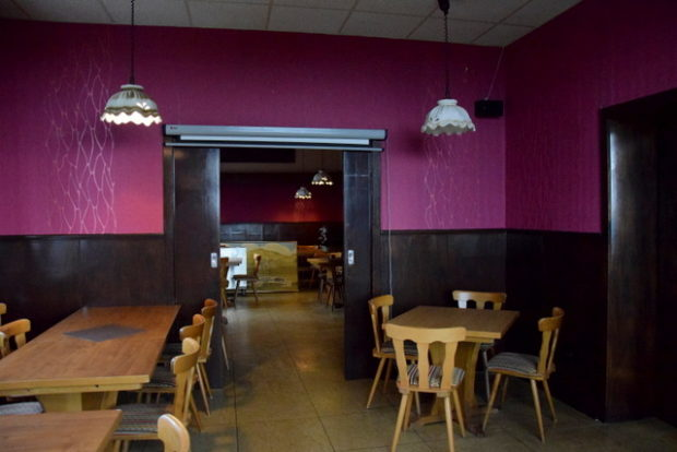 Hier wird demnächst die Weinstube des Restaurant Talblick entstehen.