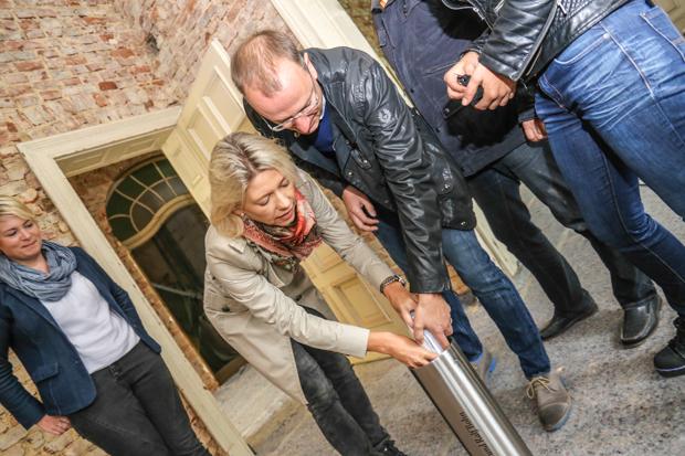 Gemeinsam für ein großes Projekt für die Region: Tanja und Ralf Bohn.