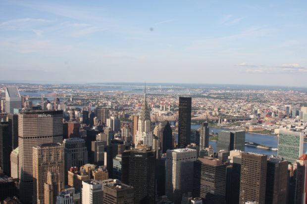 New York City ist die bevölkerungsreichste Stadt der Vereinigten Staaten.