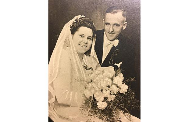 Hochzeit Tilli und Rudolf 1949