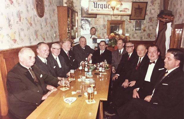 Stammtisch Knierim – Mitte der 70er Jahre