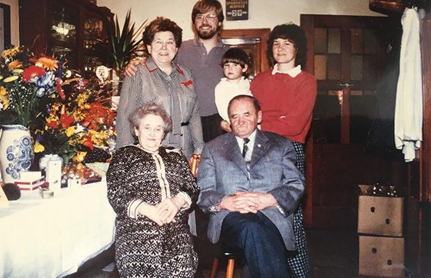 70. Geburtstag von Rudolf Knierim und Start Umbau am 29. April 1986