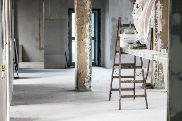 Noch gleicht es einer Baustelle doch schon Anfang des nächsten Jahres wird hier das neue Büro von Vobitz und Oberhessen-Live sein.