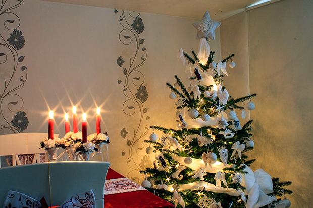 die sch nsten weihnachtsb ume unserer leser oberhessen live. Black Bedroom Furniture Sets. Home Design Ideas
