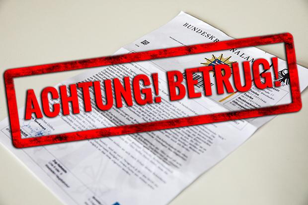wieder sind betrger unterwegs dieses mal mit briefen und anrufen die angeblich von der polizei und vom bundeskriminalamt kommendie polizei warnt fallen - Bka Bewerbung