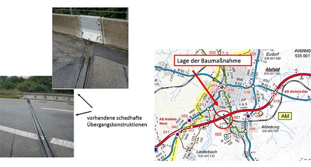 Brückenarbeiten Im Zuge Der Autobahn 5 Bei Alsfeld Oberhessen Live