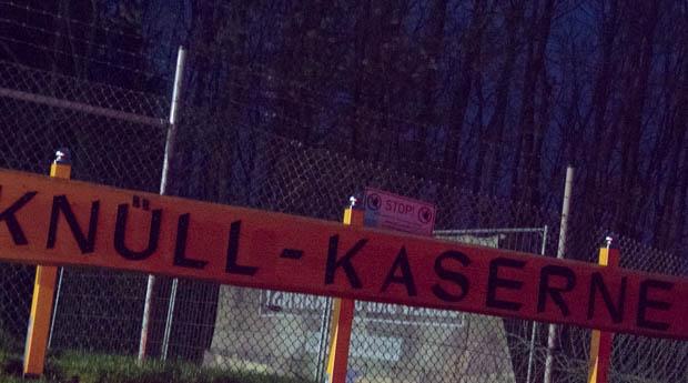 Die Knüll Kaserne in Schwarzenborn. Foto: ls