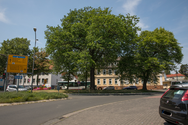 Der Ludwigsplatz. Er soll nach dem Transport umgestaltet werden. Foto: kb