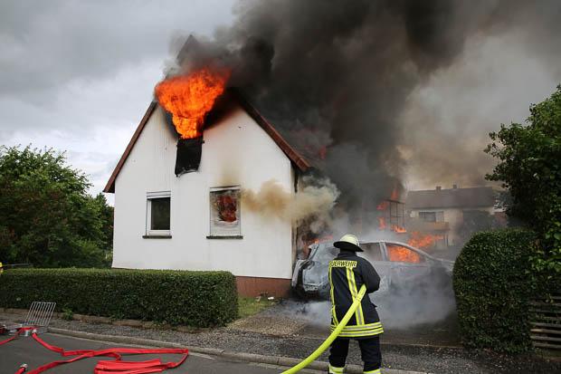 Hauseigentümer starb nicht durch Brand - Oberhessen-Live