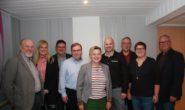 Dr. Birgit Richtberg (Mitte) und der neue Vorstand der Romröder CDU. Foto: privat