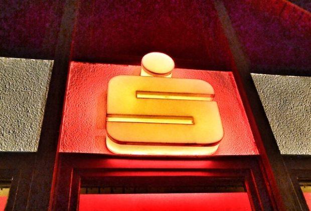 Ein Sparkassen-Logo.