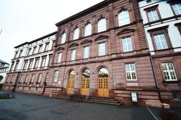 Das Gießener Landgericht.