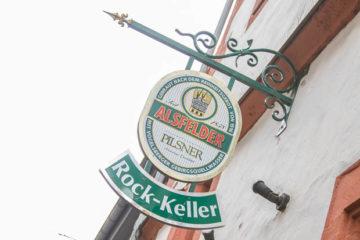 Das letzte Bier im Rockkeller ist weg. Wer war's? Foto: ls.