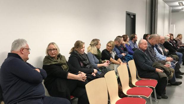 So viel Publikum gibt es selten bei einer Stavo. Foto: ls