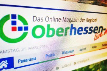 Die Homepage von OL.