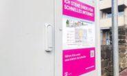 Mit solchen Plakaten wirbt die Telekom in Alsfeld für ihren Netzausbau.