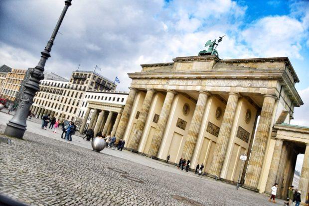 Blick auf das Brandenburger Tor.